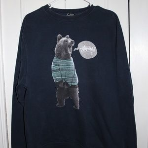 STUSSY Crewneck Sweatshirt